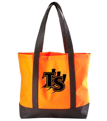 Orange with Logo  - SwimOutlet Day Tote