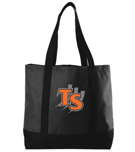 Black with Logo  - SwimOutlet Day Tote