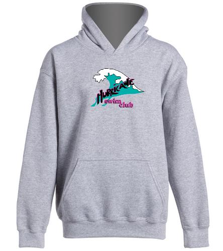 HSC Gray Youth Sweatshirt - SwimOutlet Youth Heavy Blend Hooded Sweatshirt