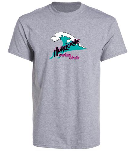 Gray Adult t-shirt - SwimOutlet Unisex Cotton Crew Neck T-Shirt