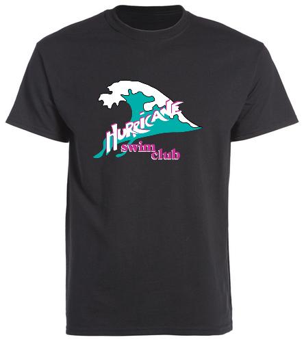 HSC black t-shirt - SwimOutlet Unisex Cotton Crew Neck T-Shirt