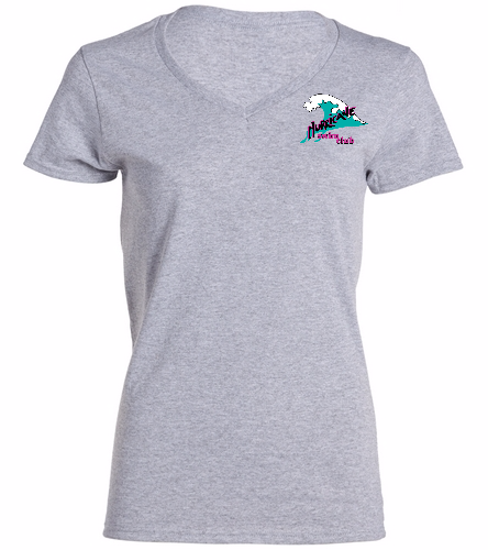 HSC women's ss v-neck - SwimOutlet Women's Cotton V-Neck T-Shirt