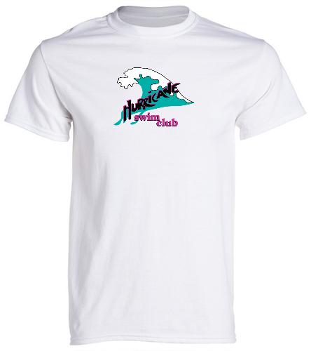 HSC Unisex white t-shirt - SwimOutlet Cotton Unisex Short Sleeve T-Shirt
