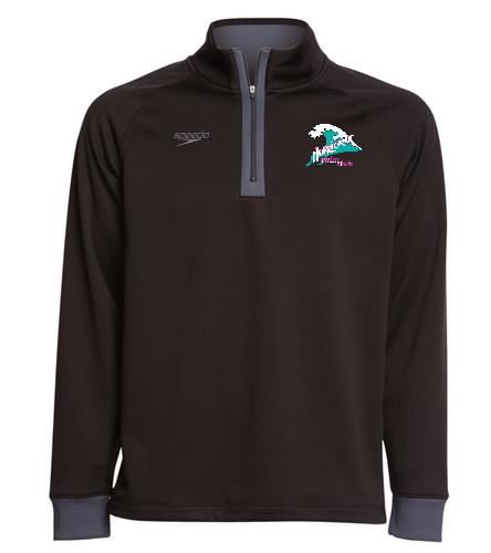 HSC 3/4 Zip shirt - Speedo Unisex 3/4 Zip Sweatshirt