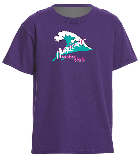 HSC youth purple t-shirt - SwimOutlet Youth Cotton T Shirt - Brights