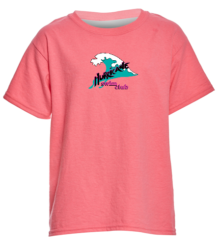 HSC youth neon pink t-shirt - SwimOutlet Youth Cotton T Shirt - Brights