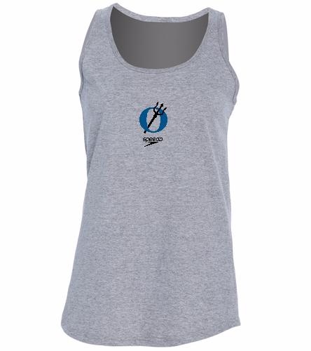 EISF grey -  Ladies 5.4-oz 100% Cotton Tank Top
