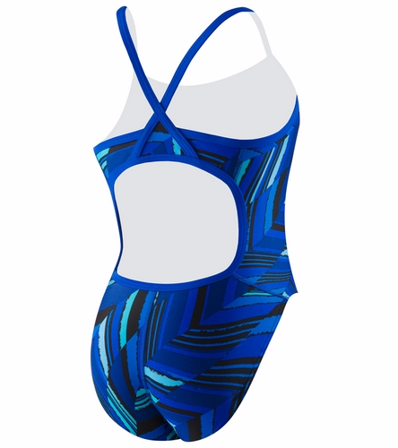 EISF - Speedo Youth Endurance+ Angles Flyback One Piece Swimsuit