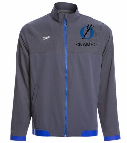 EISF mens - Speedo Men's Tech Warm Up Jacket