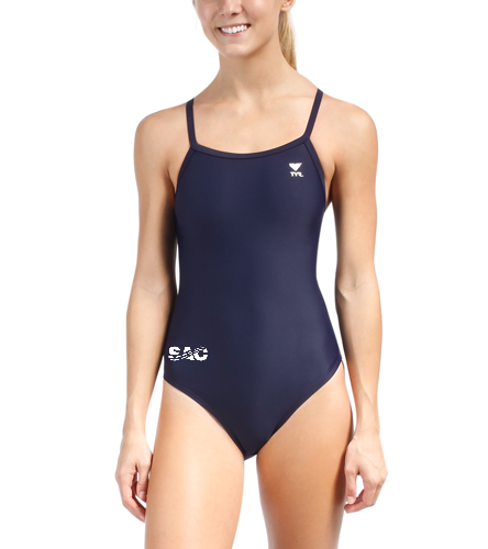 SAC Logo - TYR Women's TYReco Solid Diamondfit One Piece Swimsuit