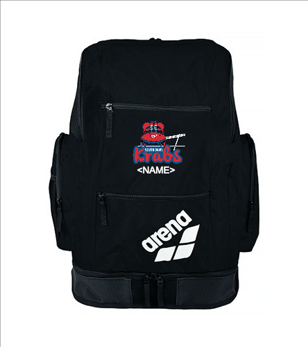 Arena Backpack with logo and name - Arena Solid Spiky 2 Large Backpack