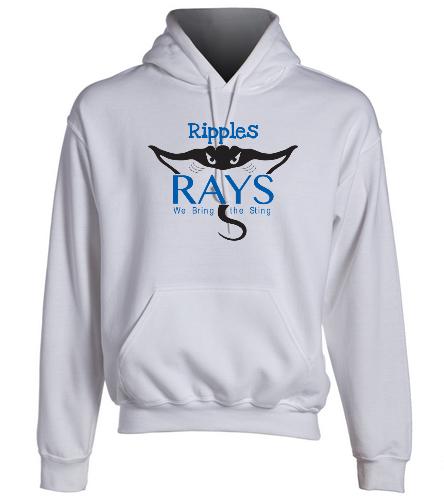 rays hoodie - SwimOutlet Heavy Blend Unisex Adult Hooded Sweatshirt