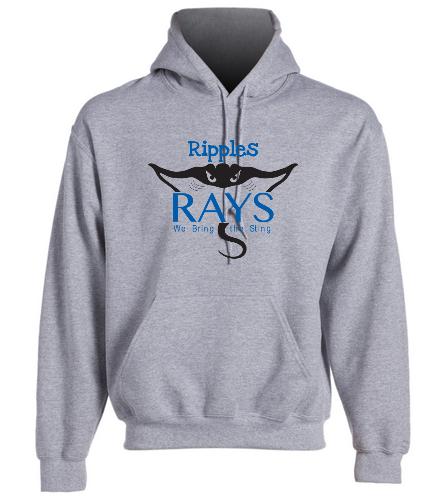 rays hoodie2 - SwimOutlet Heavy Blend Unisex Adult Hooded Sweatshirt