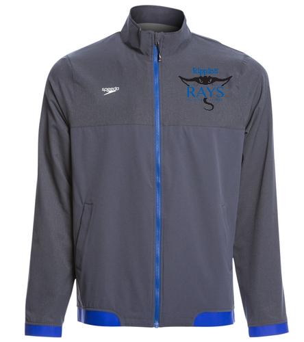 coach jacket 1 - Speedo Men's Tech Warm Up Jacket