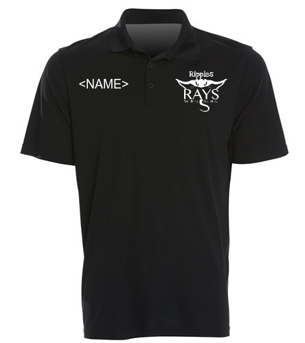 Coach tee black - SwimOutlet Sport-Tek®PosiCharge® Competitor™Polo