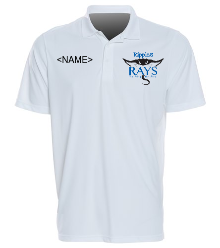 Coach Tee White - SwimOutlet Sport-Tek®PosiCharge® Competitor™Polo