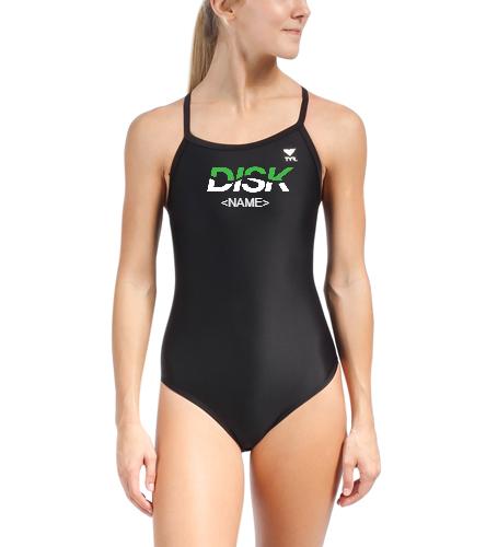 DISK Team Suit 3 - TYR Women's TYReco Solid Diamondfit One Piece Swimsuit