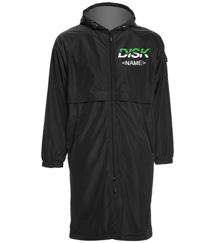 DISK Team Parka - Sporti Comfort Fleece-Lined Swim Parka
