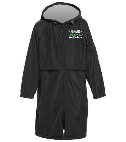 DISK Team Swim Parka - Sporti Comfort Fleece-Lined Swim Parka Youth