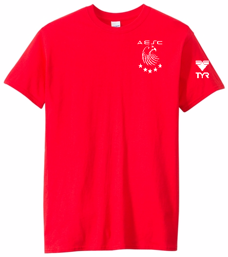 AESC Red Adult Tee - Heavy Cotton Adult T-Shirt