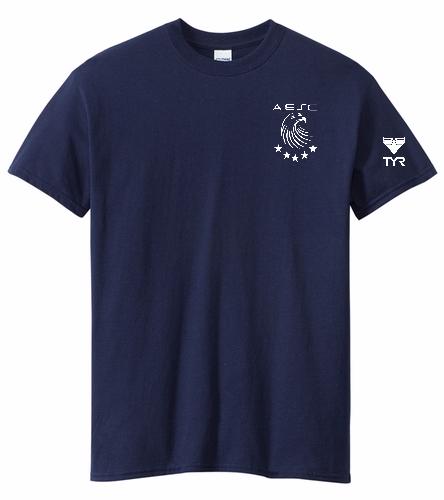 AESC Adult Navy Tee - Heavy Cotton Adult T-Shirt