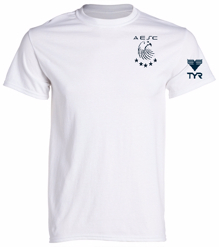 AESC Adult White Tee - Heavy Cotton Adult T-Shirt