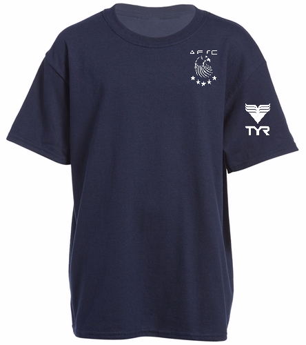 AESC Youth Navy Tee - Heavy Cotton Youth T-Shirt