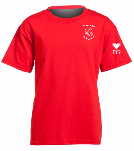 AESC Youth Red Tee - Heavy Cotton Youth T-Shirt