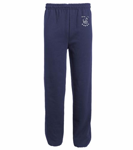 AESC Open Bottom Sweats - Heavy Blend Adult Open Bottom Sweatpants