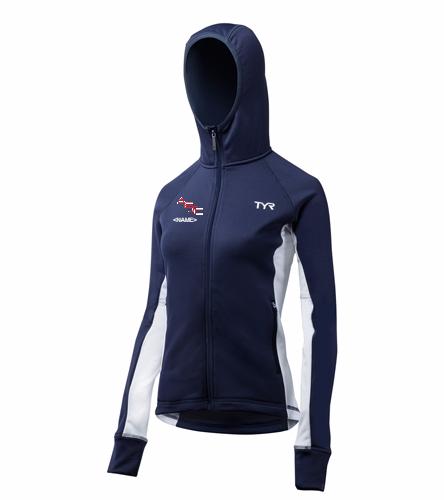 AESC Women's Jacket - TYR Alliance Victory Women's Warm Up Jacket