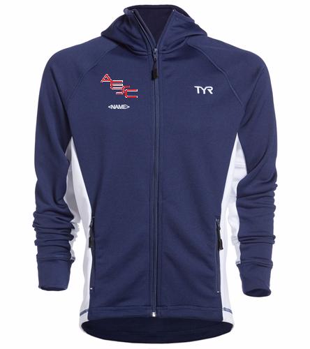 AESC Male Jacket - TYR Alliance Victory Male Warm Up Jacket