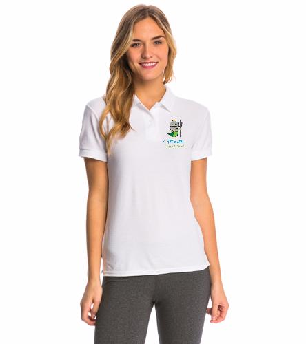 Women's Manager Polo - SwimOutlet Women's Pique Polo