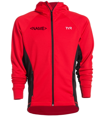 gold team tyr mens warm up  - TYR Alliance Victory Male Warm Up Jacket