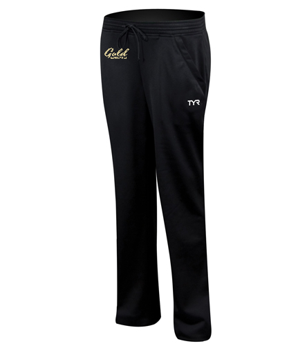 gold team tyr womens warm up pant - TYR Alliance Victory Women's Warm Up Pant