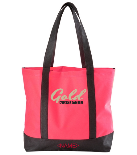 Gold Tote  - SwimOutlet Day Tote