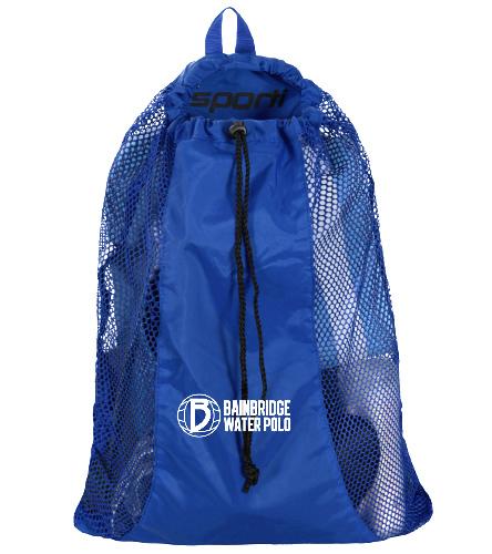 Bainbridge Island Water Polo Club - Sporti Premium Mesh Backpack