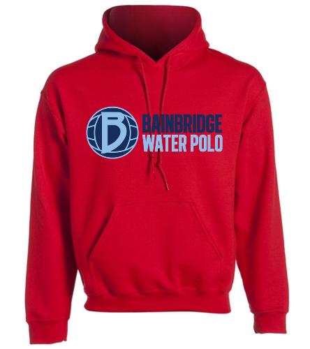 Red Adult Hooded Sweatshirt BIWPC - SwimOutlet Heavy Blend Unisex Adult Hooded Sweatshirt