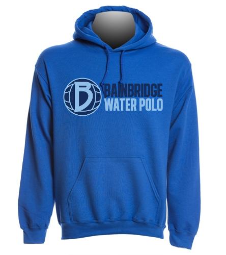 Blue Adult Hooded Sweatshirt BIWPC - SwimOutlet Heavy Blend Unisex Adult Hooded Sweatshirt