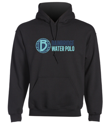 Black Adult Hooded Sweatshirt BIWPC - SwimOutlet Heavy Blend Unisex Adult Hooded Sweatshirt