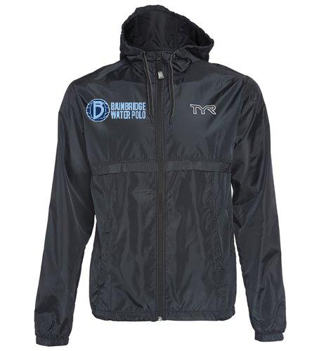 Mens Windbreaker - TYR Men's Elite Team Windbreaker Jacket