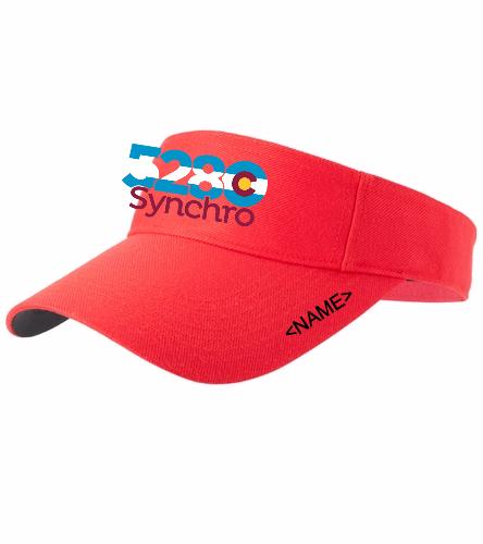 5280 Visor!!! - SwimOutlet Custom Cotton Twill Visor