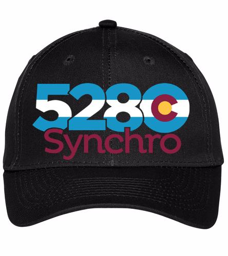 5280 Baseball Cap - SwimOutlet Unisex Performance Twill Cap