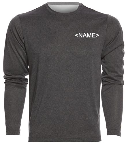 5280 Long Sleeve - SwimOutlet Men's Long Sleeve Tech T Shirt