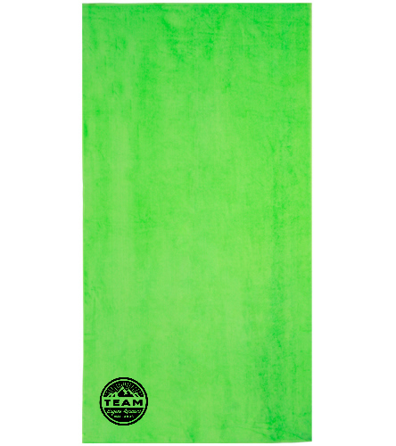lime towel - Royal Comfort Terry Velour Beach Towel 32 X 64