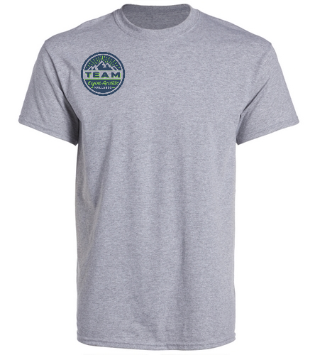 TEAM Gray - SwimOutlet Unisex Cotton Crew Neck T-Shirt