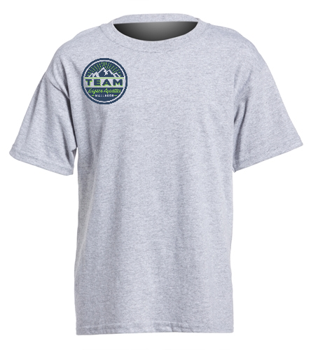 TEAM gray - SwimOutlet Youth Cotton Crew Neck T-Shirt