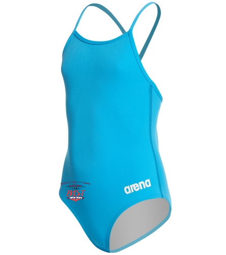 Arena Girls'  - Arena Girls' Master MaxLife Thin Strap Micro Back One Piece Swimsuit
