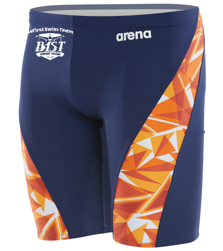 B1ST - Arena Men's Shattered Glass MaxLife Jammer Swimsuit