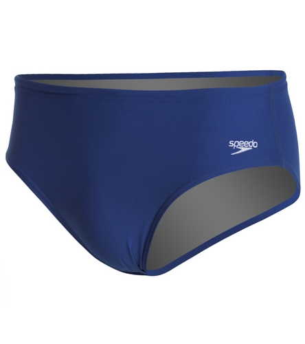CCA Navy Brief - Speedo Solid Endurance + Brief Swimsuit