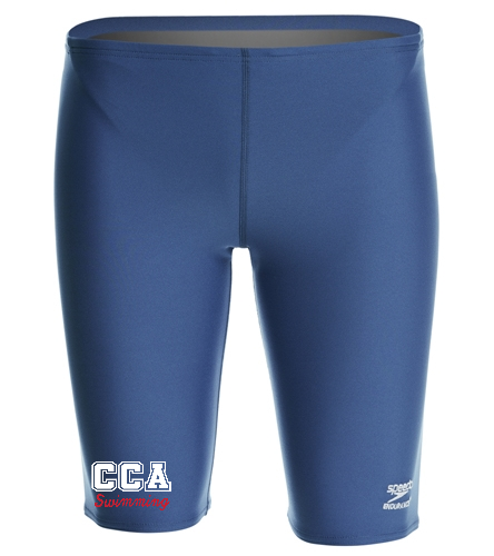 CCA Navy Jammer - Speedo Male Solid Endurance+ Jammer Swimsuit
